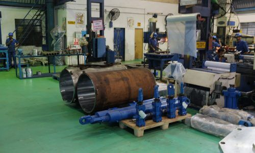 Large Honed Pneumatic Pipes